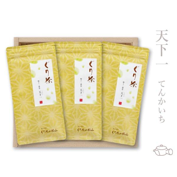 深蒸し茶製法のぐり茶の高級品茶葉